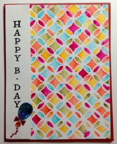 Watercolor for SSS Wednesday challenge.